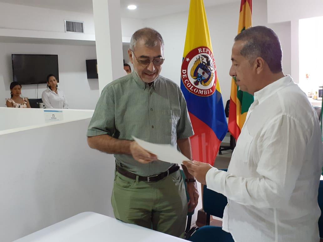 Denunciado penalmente por injuria y calumnia el alcalde electo de Cartagena William Dau Chamat