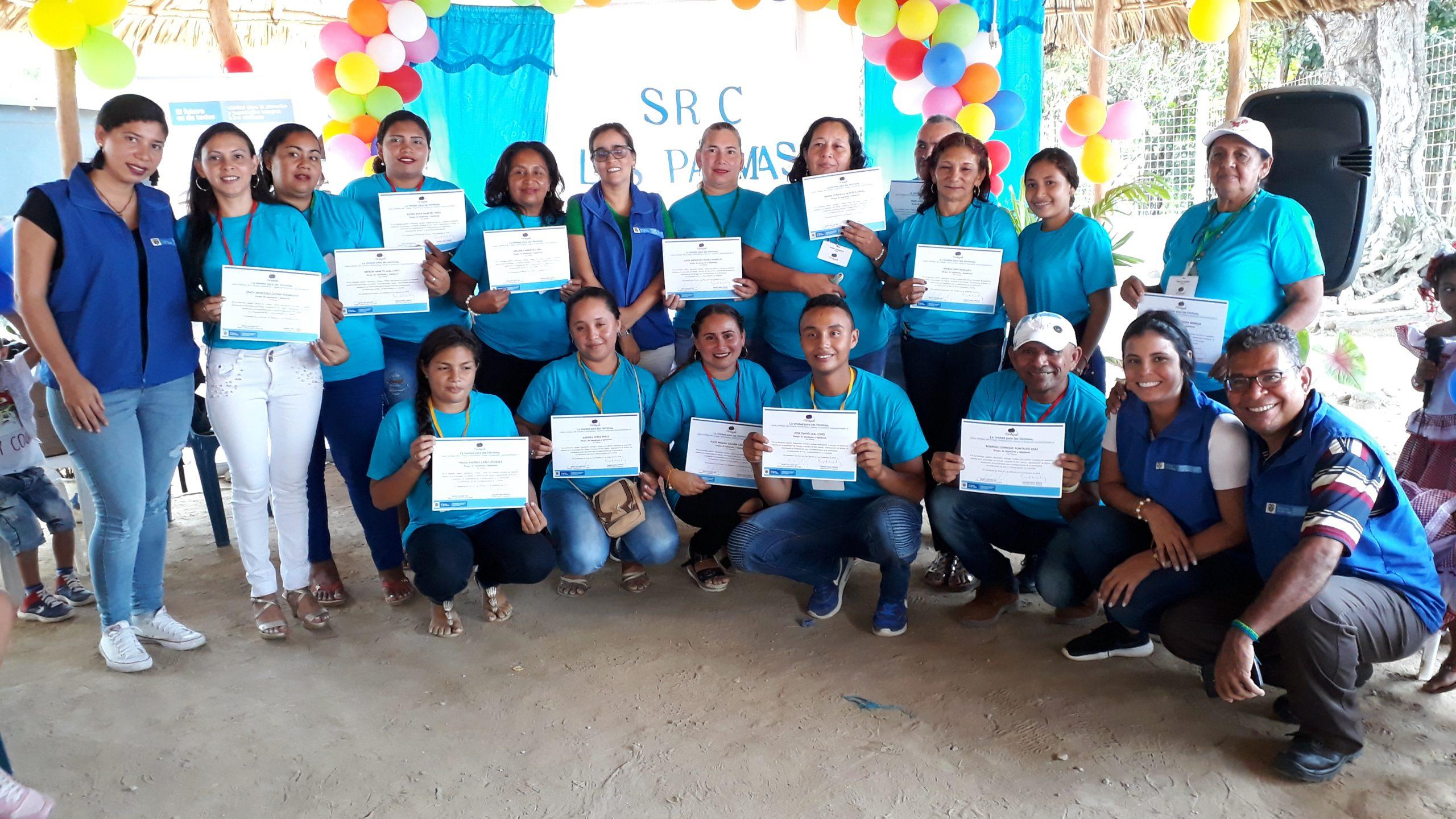 Comunidades de Las Palmas, en San Jacinto, reconstruyen su tejido social