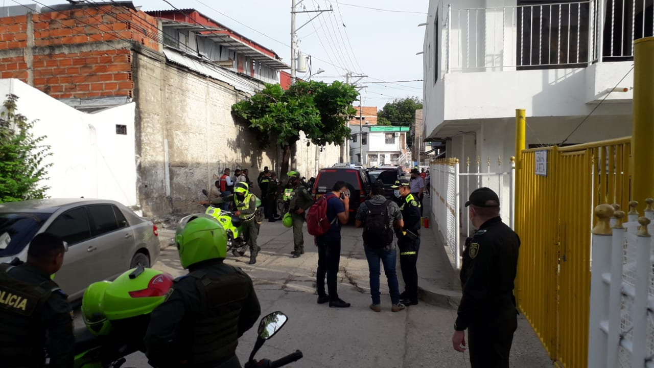 Atracan camión de valores en Cartagena