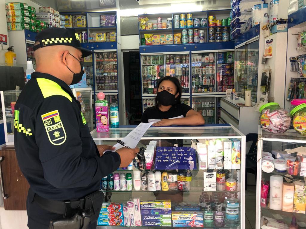 Policía crea frente de seguridad y red de apoyo en Mompox