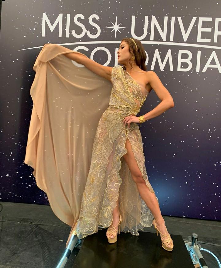 Diseñadora Momposina ganó Mejor Vestido en Miss Universe Colombia