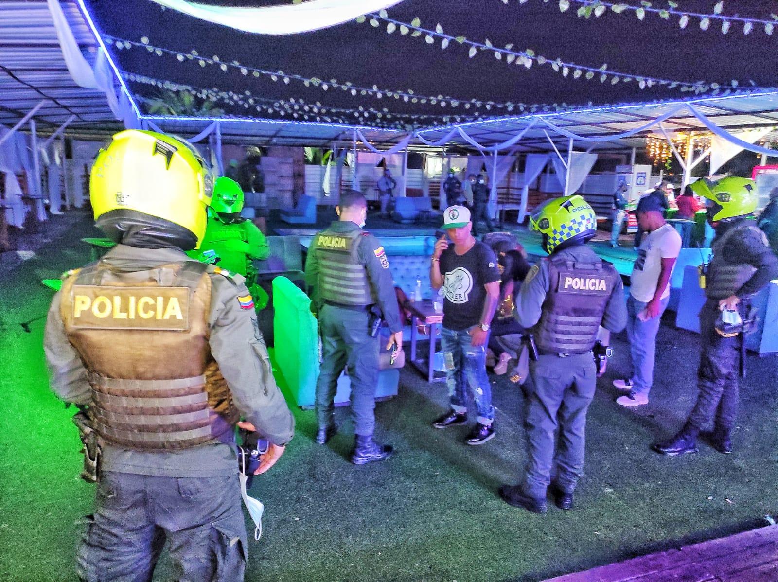 Caravanas de seguridad se toman barrios de Cartagena